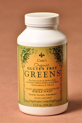 Catie's Organic Gluten Free Greens - Whole Food Supplement