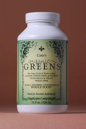 Catie's Organic Greens - Whole Food Supplement - Click Image to Close