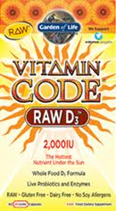 Vitamin Code - RAW D3 2000IU
