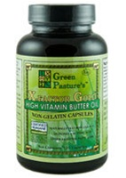 Green Pasture's X-FACTOR Gold High Vitamin Butter Oil, 120 Caps