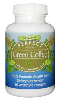 Perfect Green Coffee - 100% Pure Green Coffee Bean Extract