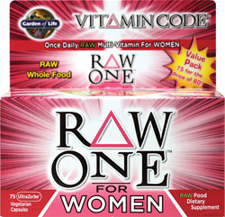 Vitamin Code - RAW One For Women