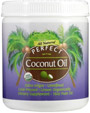 Perfect Coconut Oil 16oz - Pure, Extra-Virgin, and Organic